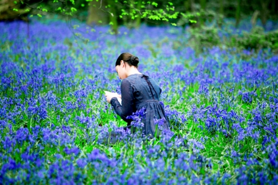 Still from Jane Campion's 2009 film 'Bright Star,' with Abbie Cornish as Fanny  Brawne.