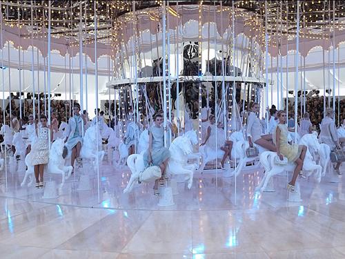 Louis Vuitton SS12 via Harper's Bazaar UK