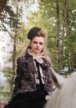 'Take the High Road' editorial, Vogue UK, September 2008. Fashion editor Kate Phelan, photographed by Venetia Scott.