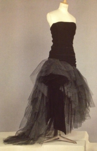 Yves Saint Laurent Couture, AW 1983, from Icons of Vintage Fashion (2013)